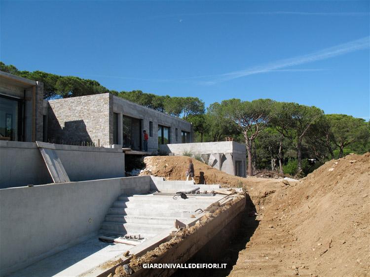 Privati signorile villa moderna con ampio parco e piscina - Villa moderna con piscina ...