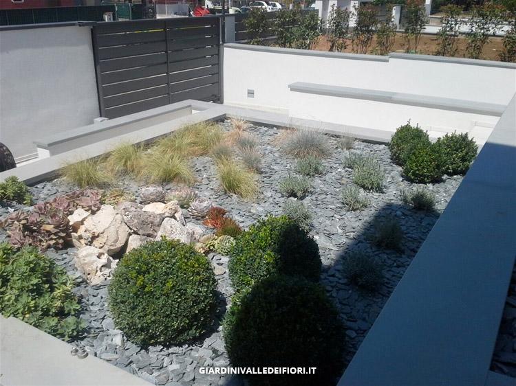 Conosciuto Privati, Giardini moderni per ville di nuova costruzione  GX58
