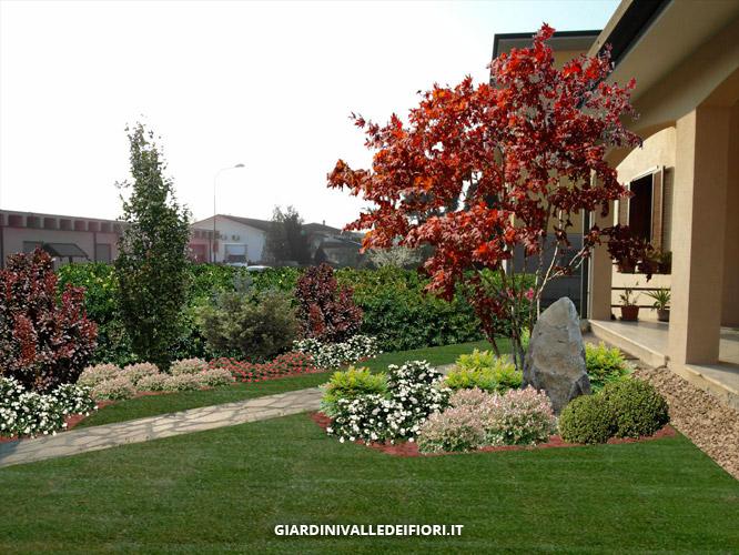 Progettazione giardini servizi aree verdi parchi pubblici - Immagini di giardini fioriti ...