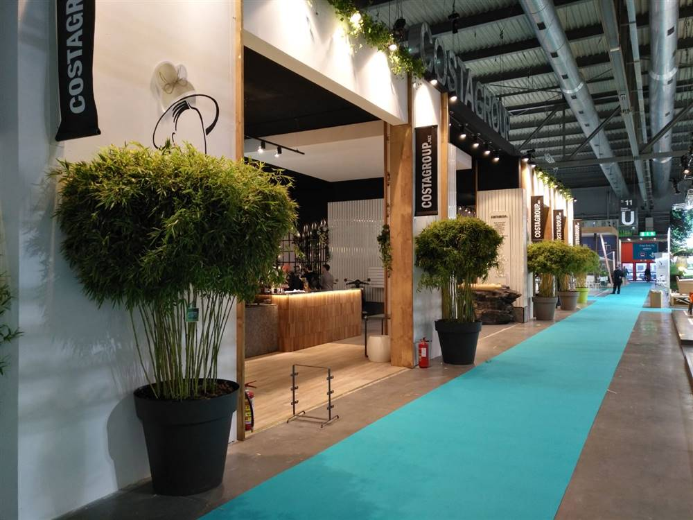 Allestimento del verde - Stand CostaGroup @Host Milano